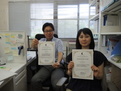 熊本大学国際先端研究拠点EncouragementAward